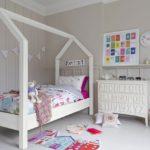Идея для оформления комнаты девочки