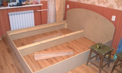 Как сделать двухспальную кровать