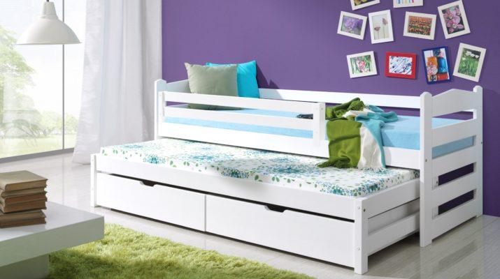 Выдвижная кровать с местом для хранения вещей