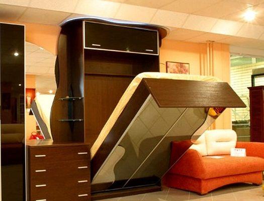 Двуспальная кровать трансформер