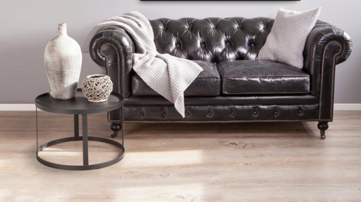Роскошный кожаный диван