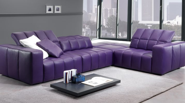 Монолитный диван