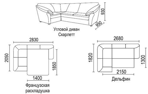 Популярные механизмы диванов