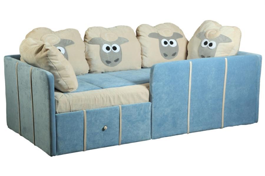 детские диваны с бортиками от 3 лет основные характеристики изделий