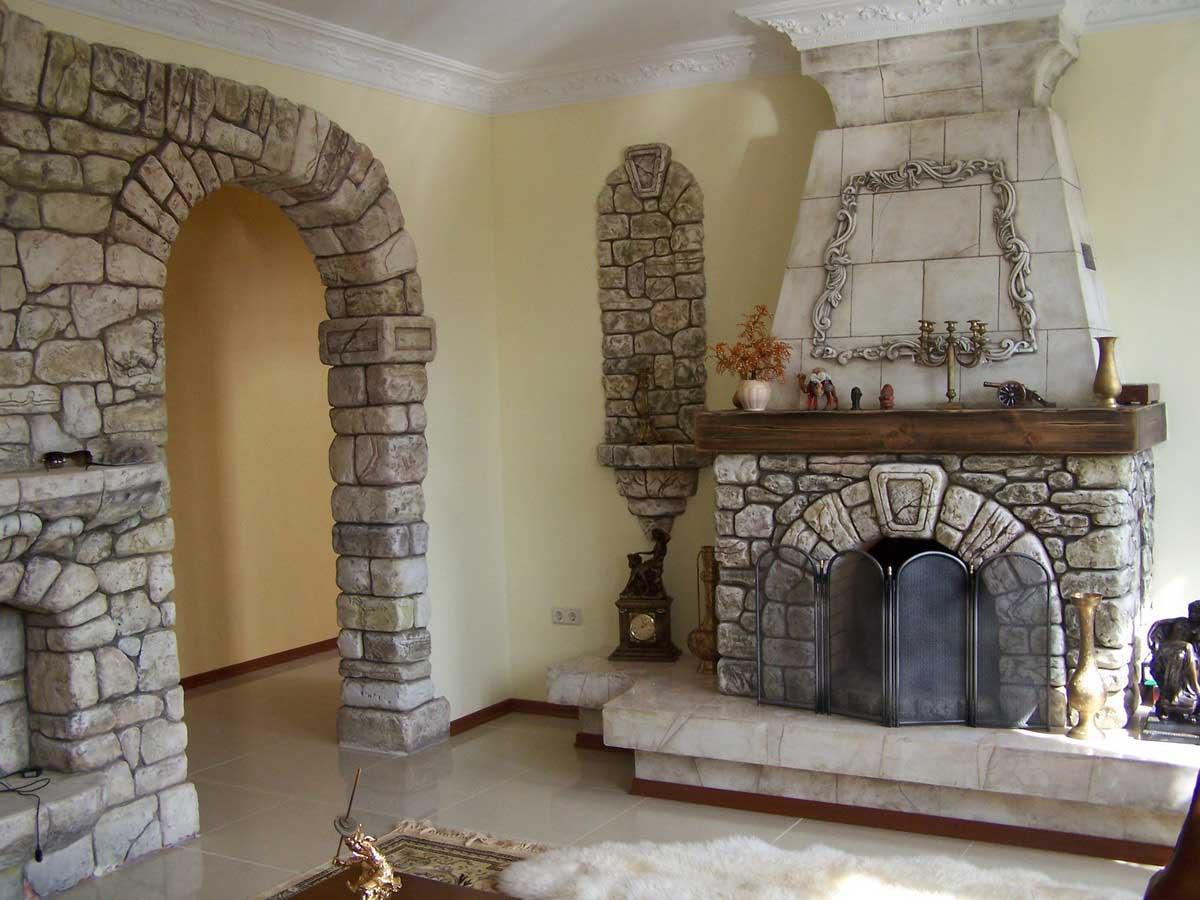 Декоративная отделка арки в квартире своими руками фото 11