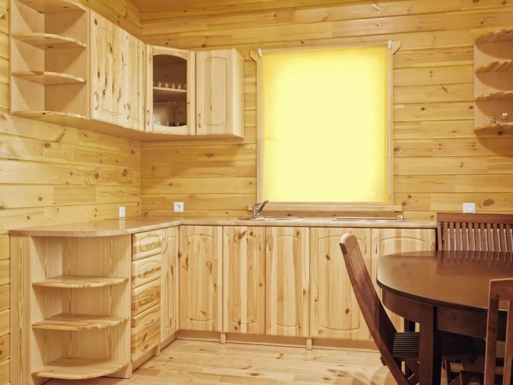 Натуральная кухня своими руками из дерева: нюансы изготовления