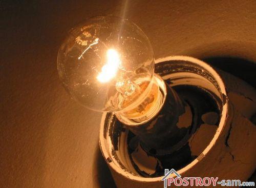 Как продлить срок службы лампы накаливания схема фото 74