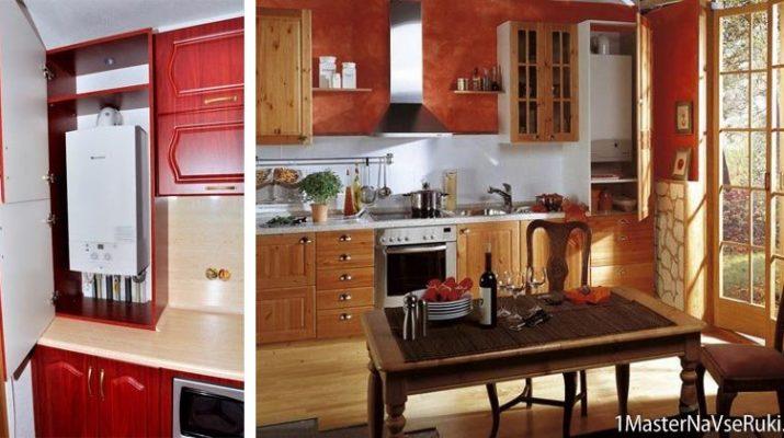 Как спрятать трубы на кухне: закрыть, убрать, зашить, скрыть ... | 400x715