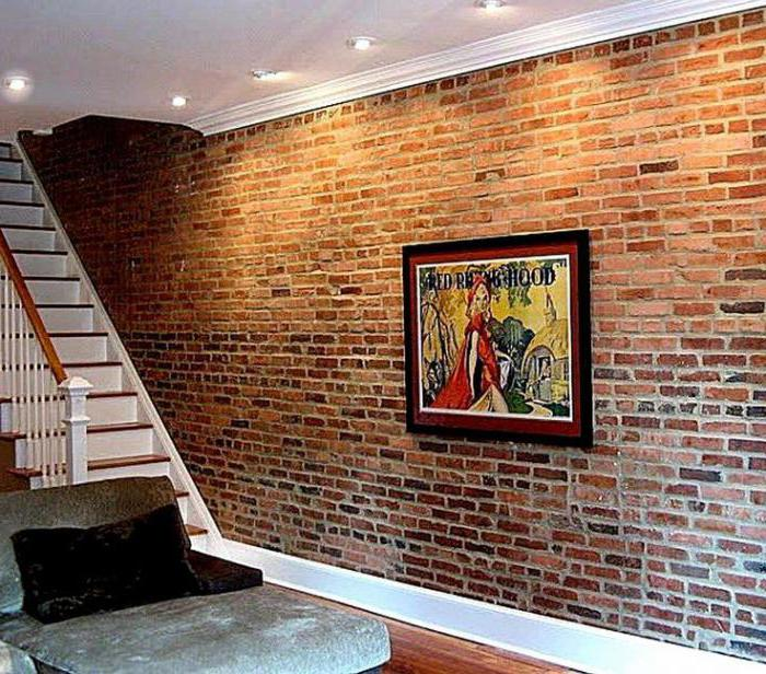 панели под кирпич для внутренней отделки стен