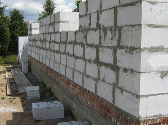 штукатурка газосиликатных блоков снаружи цементным раствором