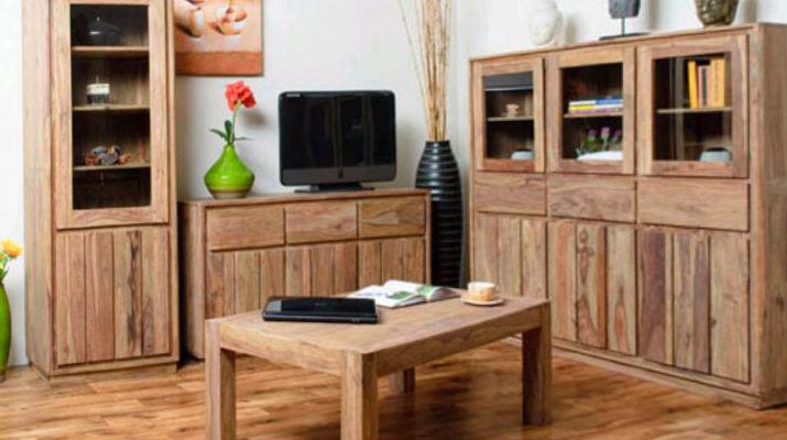 Особенности современной мебели из массива