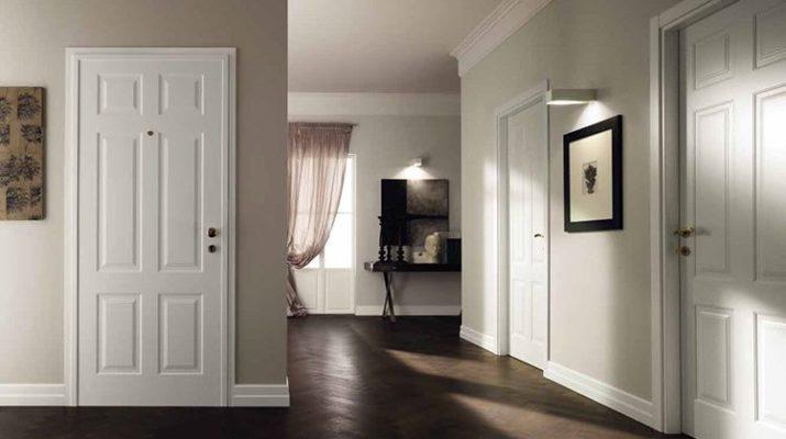 Стоит ли использовать белые межкомнатные двери в интерьере