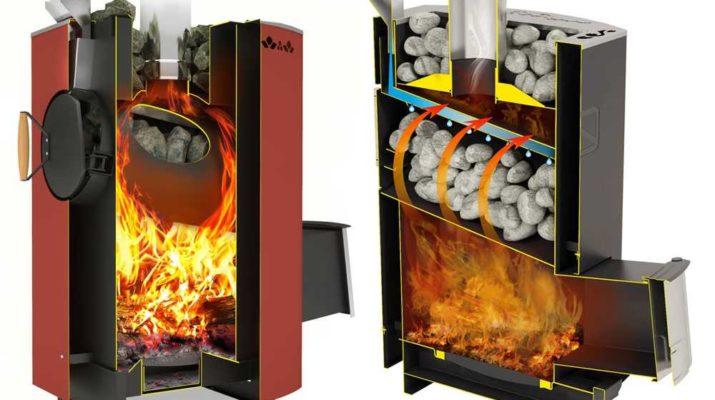 Технические характеристики печи-каменки из металла
