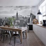 Как выбрать идеальные фотообои для кухни