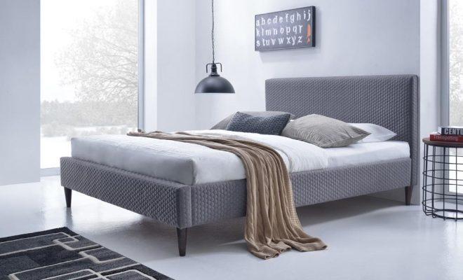 Самые популярные тканевые кровати по материалу обивки