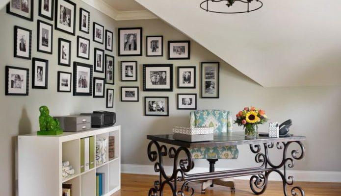 Где и как лучше всего разместить фотографии на стенах