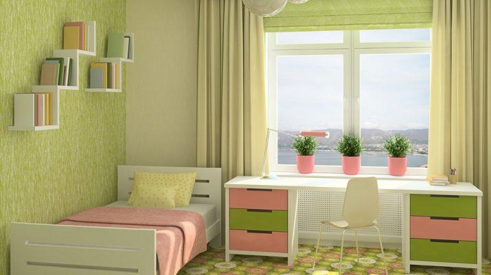 Как правильно выбрать шторы для детской комнаты