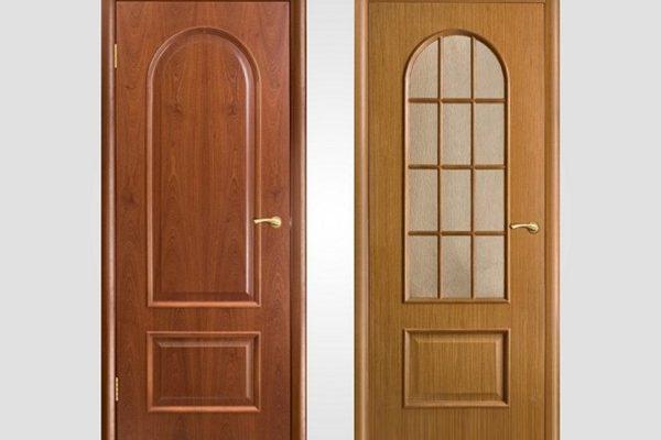 Шпонированные двери для квартиры и их виды