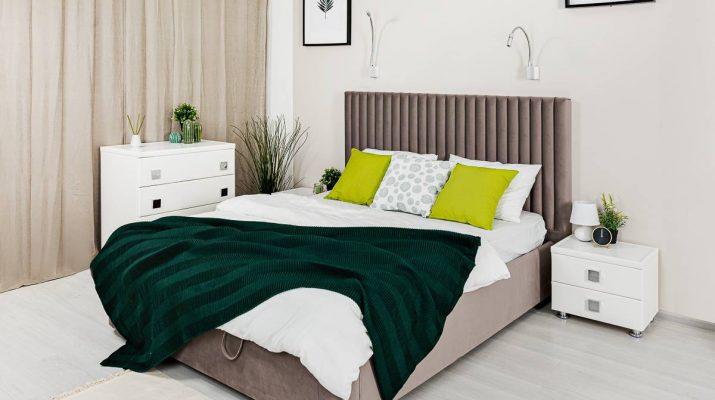3 модели мягких кроватей от Армос-Маркет