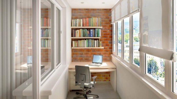 Как обустроить балкон как жилую зону