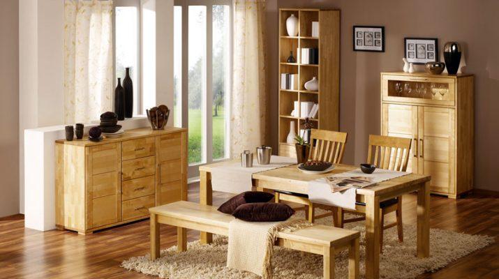Как выбрать мебель из массива по породе дерева