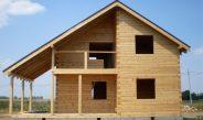 Дома из профилированного бруса: свойства и особенности