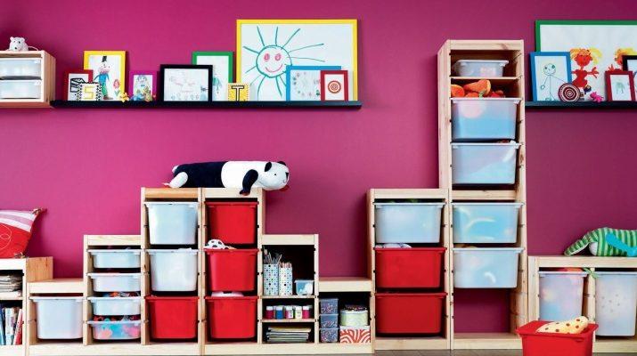 Как выбрать хороший стеллаж для детской комнаты