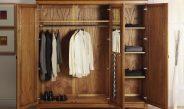 Платяной шкаф и материалы его изготовления