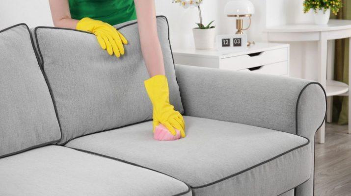 Сколько стоит химчистка дивана на дому
