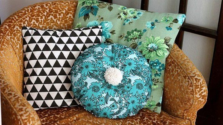 Советы по выбору декоративной подушки для дивана
