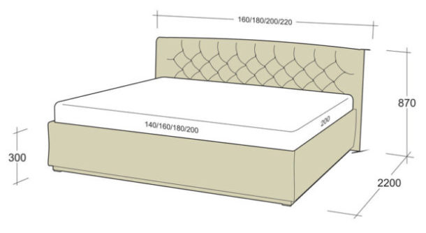 Тонкости выбора кровати в спальню