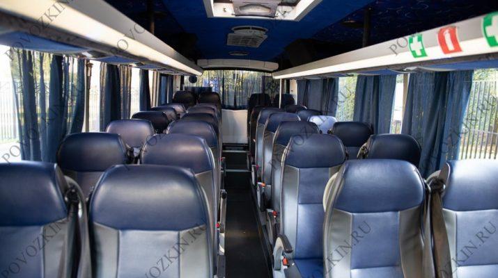 Аренда автобуса для рабочих