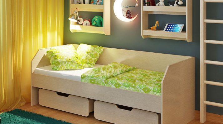 Основные разновидности детских кроватей